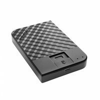 Verbatim Fingerprint Secure Portable 2TB USB 3.1 External Hard Drive