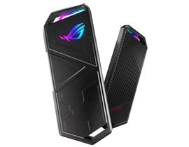 Asus ROG STRIX ARION M.2 NVMe SSD Enclosure USB 3.2 Gen2 Type-C Aluminium Thermal Pads RGB Lighting