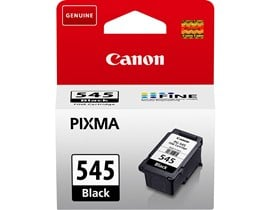Canon PG-545 Ink Cartridge - Black, 8ml (Yield 180 Pages)