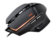 Cougar 600M Gaming Mouse 8200 dpi 3 Profiles 16.8 Million Colour LED Gaming Features Black Retail