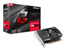 ASRock Radeon RX 550 Phantom 2GB Graphics Card