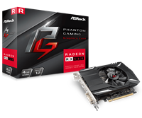 ASRock Radeon RX 560 4GB Phantom Edition Graphics Card