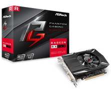 ASRock Radeon RX 560 Phantom 4GB Graphics Card