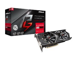 ASRock Radeon RX 570 Phantom X 4GB Graphics Card