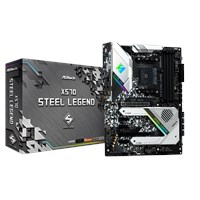 ASRock X570 Steel Legend ATX Motherboard for AMD AM4 CPUs