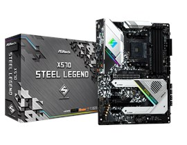 ASRock X570 Steel Legend AMD Socket AM4 X570 Chipset ATX Motherboard *Open Box*