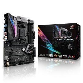 ASUS ROG STRIX X370-F GAMING AMD Socket AM4