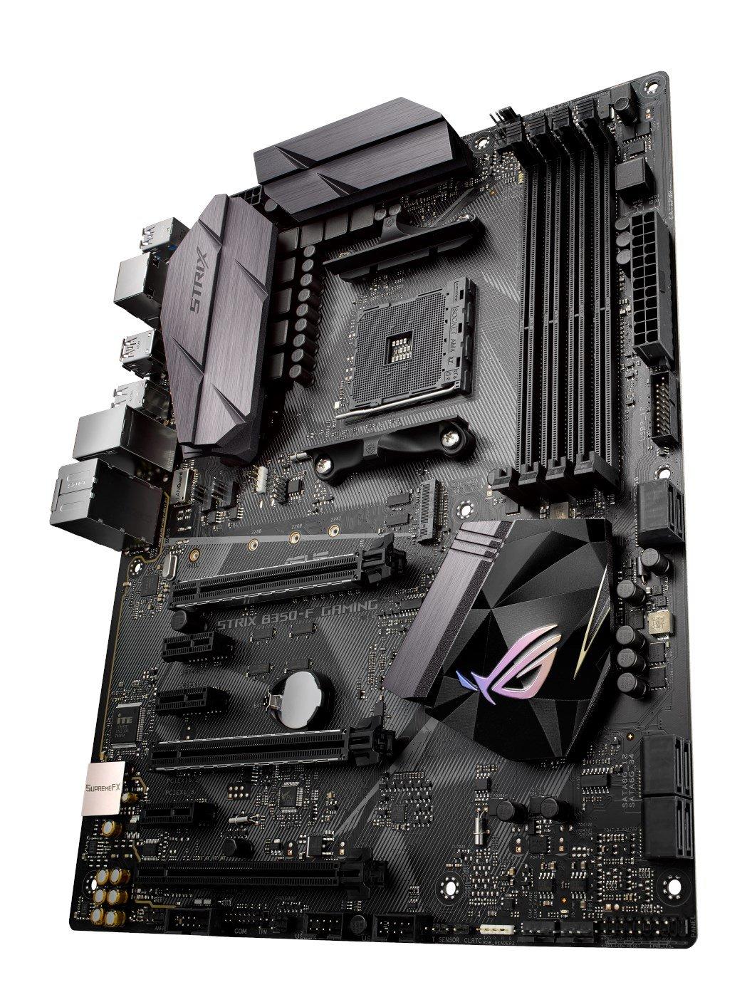 Asus ROG Strix B350-F Gaming AMD AM4 B350 Motherboard (ATX ...
