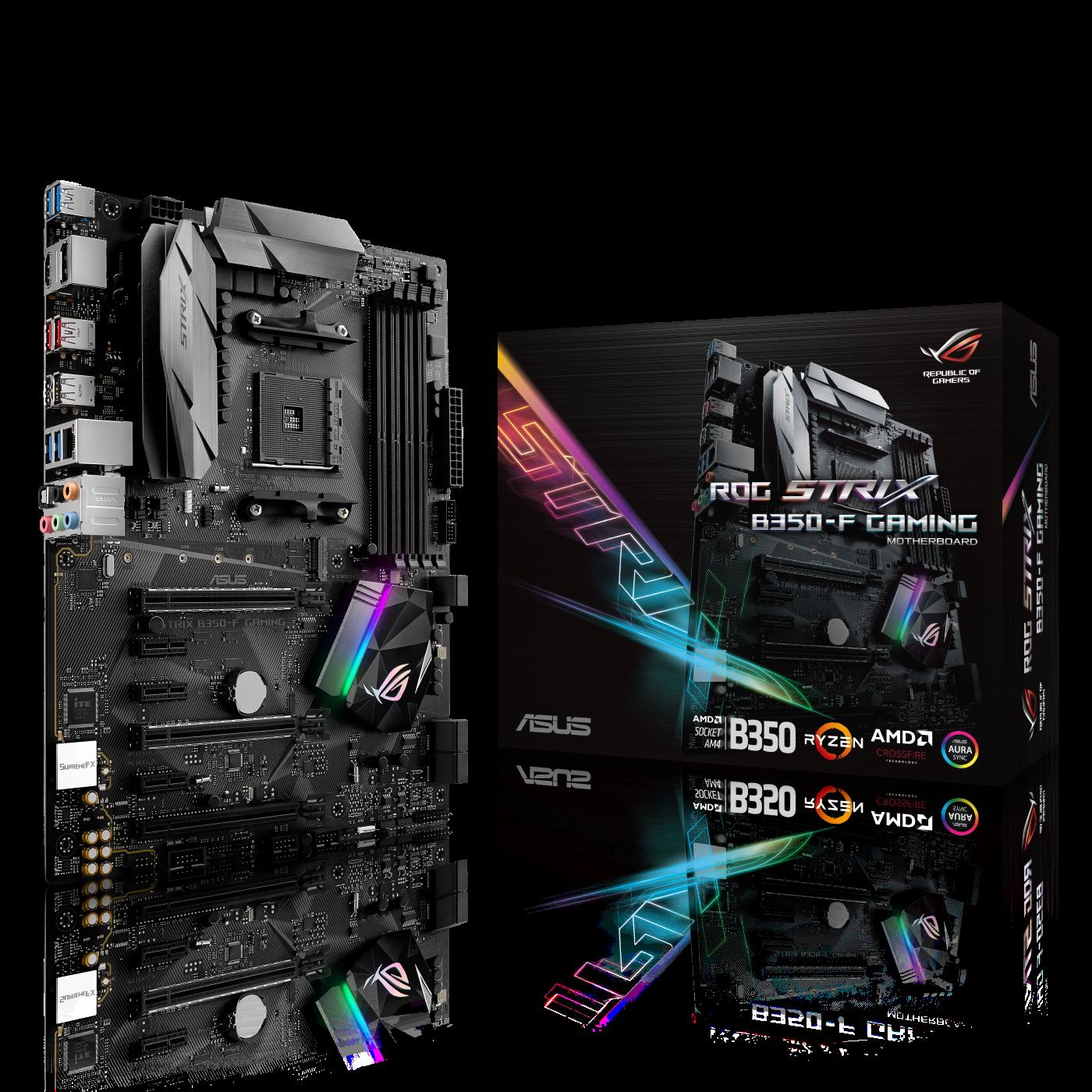 ASUS B350-F Strix