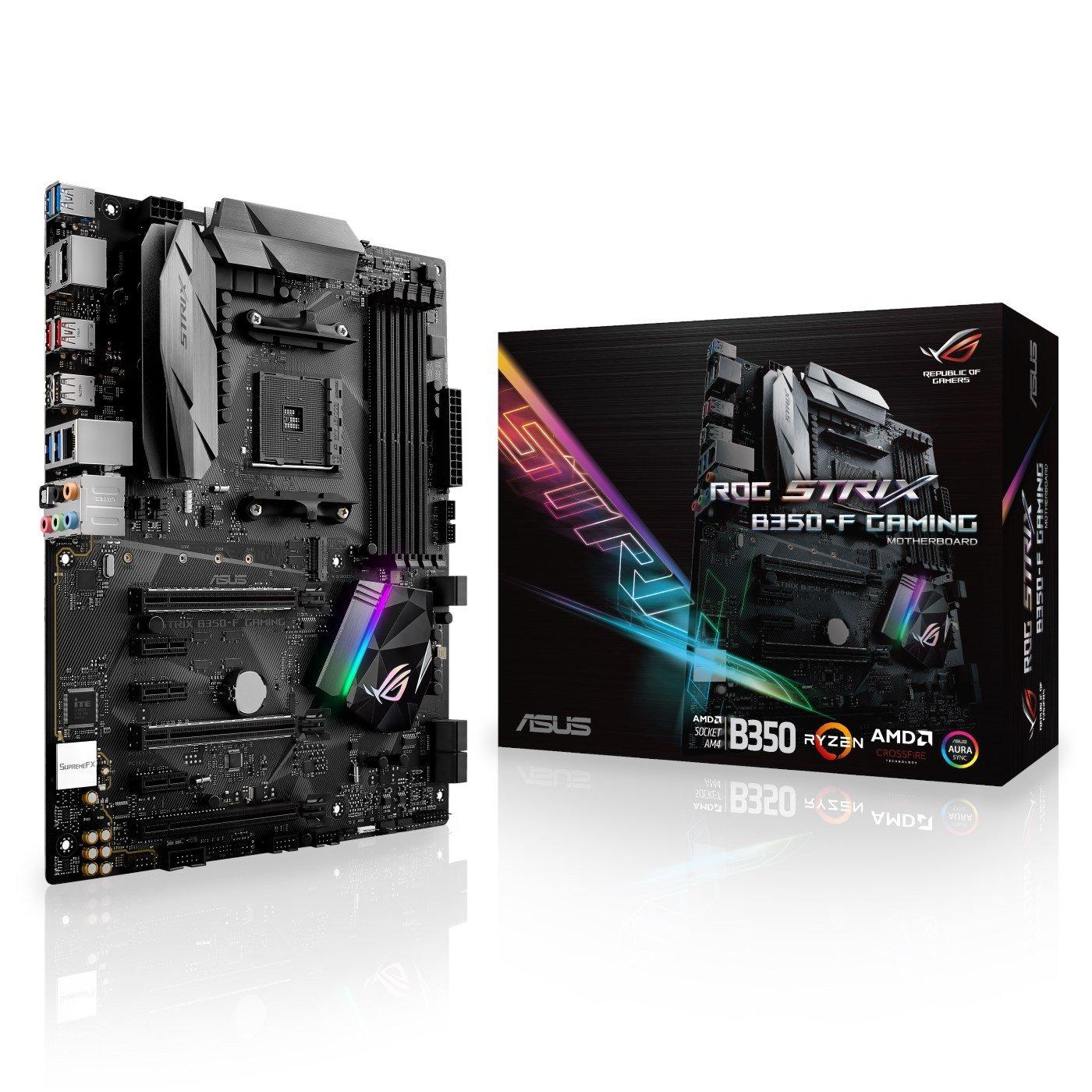 ASUS ROG STRIX B350-F GAMING AMD Socket AM4 - 90MB0UJ0 ...
