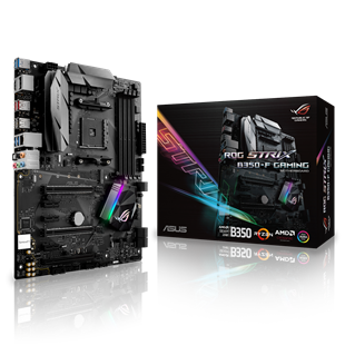 ASUS ROG STRIX B350-F GAMING AMD Socket AM4