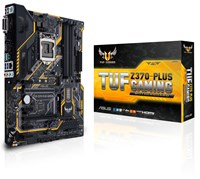 ASUS TUF Z370-PLUS GAMING ATX Motherboard for Intel LGA1151 CPUs