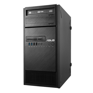 ASUS ESC500 G4 Workstation PC - Intel Core i5-7500, 8GB RAM, 256GB SSD, DVD-RW, Dual LAN, 3 Year On-Site NBD