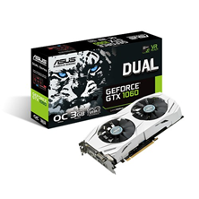 ASUS GeForce GTX 1060 Dual 3GB Graphics Card
