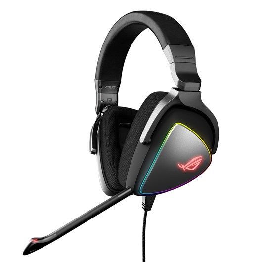 ASUS ROG Delta RGB Gaming Headset (Black) for PCs, consoles and mobiles