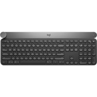 Logitech Craft Advanced Wireless Keyboard with Creative Input Dial  - UK English QWERTY