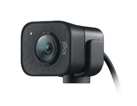 Logitech StreamCam Full HD USB Type-C Webcam in Black