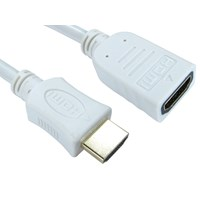 5m HDMI (v1.4) High-Speed with Ethernet Extension Cable (White)
