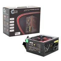 Ace 850w Black PSU 12cm Red Fan PFC *Open Box*