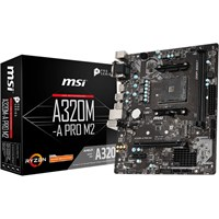 MSI A320M-A PRO M2 mATX Motherboard for AMD AM4 CPUs
