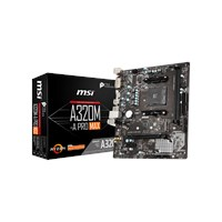 MSI A320M-A PRO MAX mATX Motherboard for AMD AM4 CPUs
