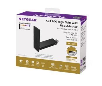 Netgear A6210 1200Mbps USB 3 0 WiFi Adapter