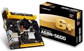 Biostar A68N-5600 AMD Integrated CPU Motherboard