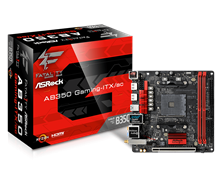 ASRock Fatal1ty AB350 Gaming-ITX/ac AMD Socket AM4