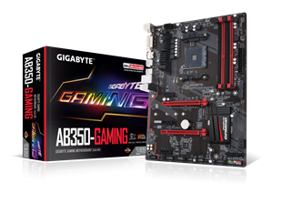 Gigabyte AB350-Gaming AMD Socket AM4 Motherboard