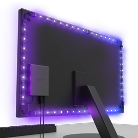 NZXT HUE 2 Ambient RGB Lighting Kit for 21-26 inch Monitors