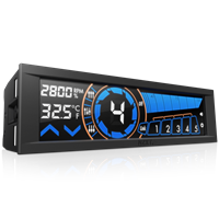 NZXT Sentry 3 Five-Channel Fan Controller with 5.25 inch Touch Display