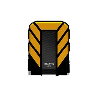Adata HD710 2TB Mobile External Hard Drive in Yellow - USB3.1