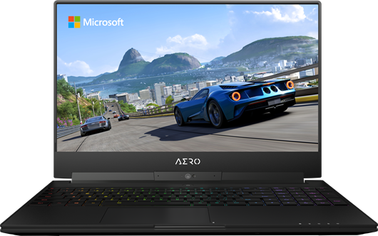 "Gigabyte AERO 15W v8 15.6"" Core i7 Gaming Laptop"