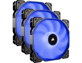 Corsair Air Series AF120 (120mm) LED Cooling Fan (Blue) Pack of 3