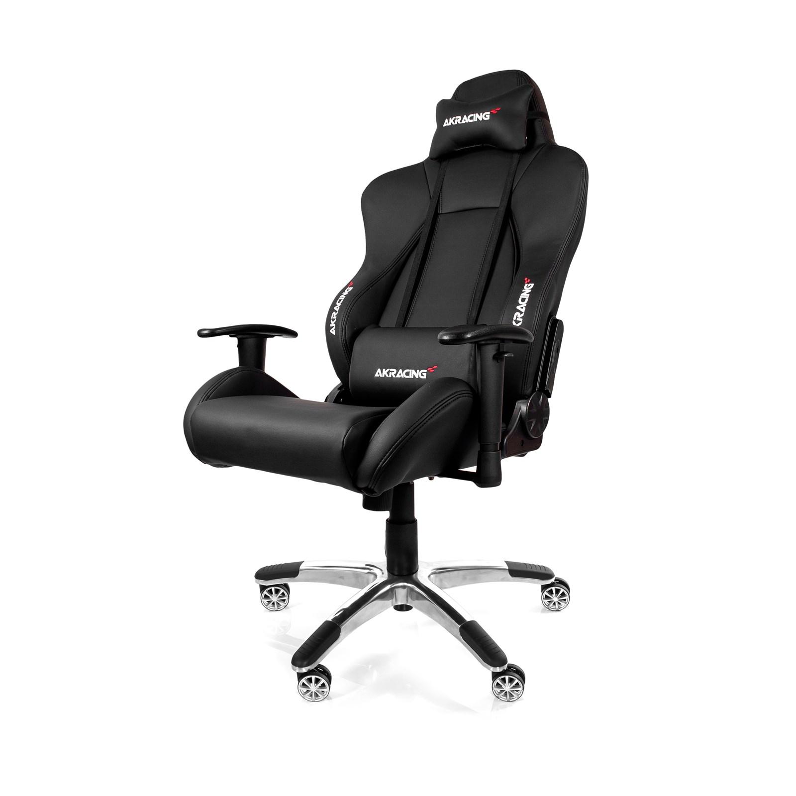 AK Racing Premium V2 Gaming Chair Black & Black AK
