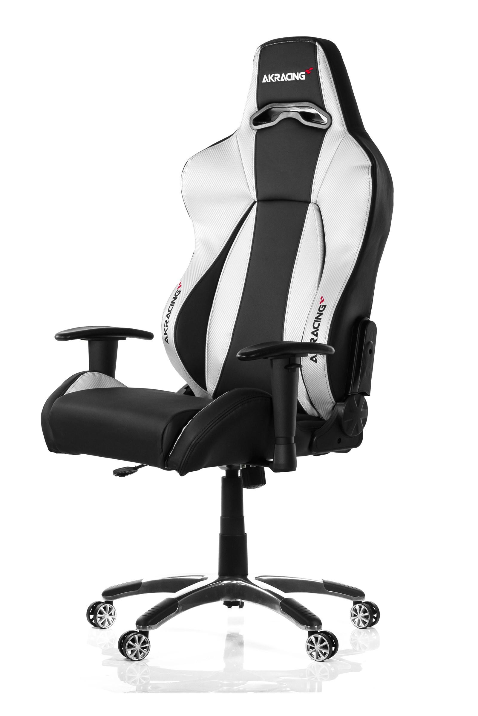 AK Racing Premium V2 Gaming Chair Black & Silver AK 7002 BS