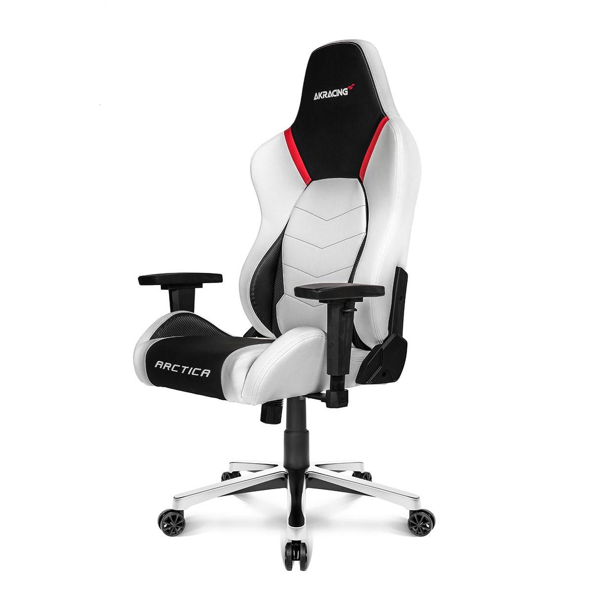 AK Racing Arctica Gaming Chair White AK ARCTICA WT UK
