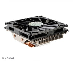 Akasa Nero LX 2 High Performance Low Profile CPU Cooler