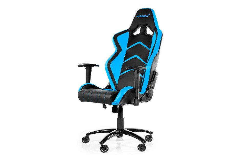 Ak Racing Player Gaming Chair Black Blue Ak K6014 Bl