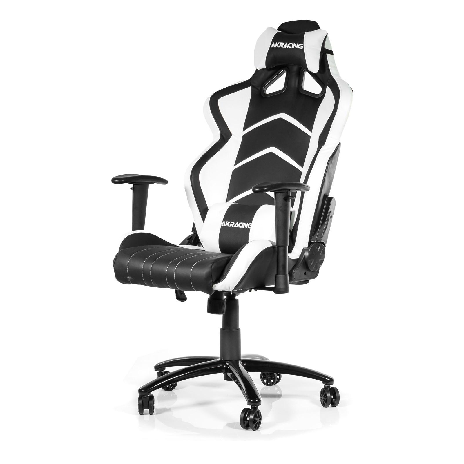 Ak Racing Player Gaming Chair Black White Ak K6014