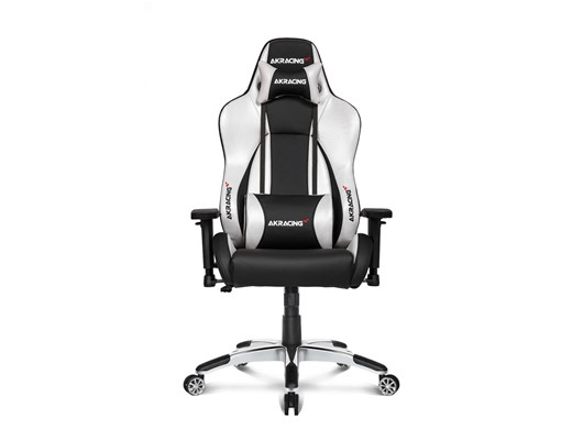 AKRacing Masters Series Premium Gaming Chair (Black, Silver)