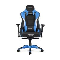 AKRacing Masters Series Pro Gaming Chair (Black, Blue)