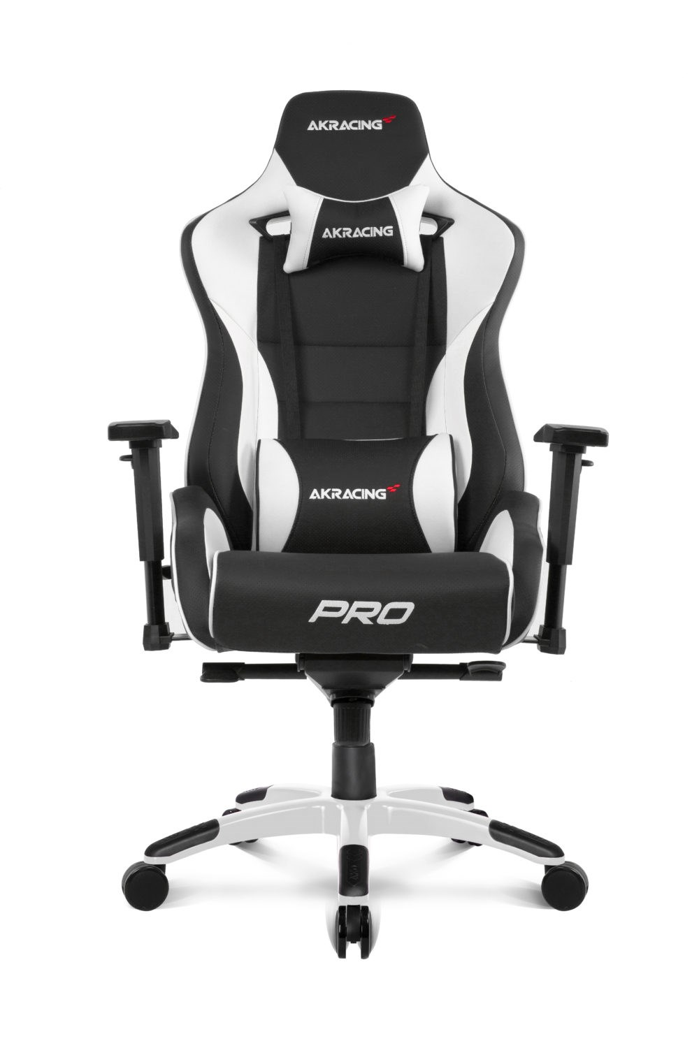 Fine Akracing Masters Series Pro Gaming Chair Black White Ak Pro Wt Uk Machost Co Dining Chair Design Ideas Machostcouk