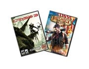 AMD Never Settle Reloaded Bioshock Infinite + Crysis 3 Game Download Voucher