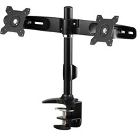 Amer AMR2C Dual Monitor Desk Mount with Clamp Base