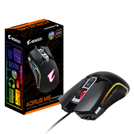 Gigabyte AORUS M5 USB Gaming Mouse with RGB Fusion Support