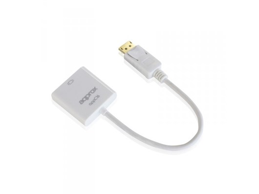 Approx (APPC16) Display Port To HDMI Female Converter (White)