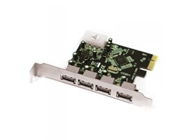 Approx (APPCIE4P) 4-Port USB 3.0 Card PCI Express Retail