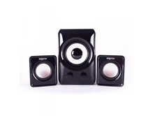 APPROX 2.1 Compact Multimedia Stereo Speakers with Subwoofer, 10W RMS, Black (APPSP21M)