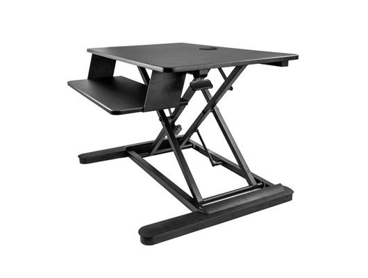 StarTech.com Sit-Stand Desk Converter with 35 inch Work Surface